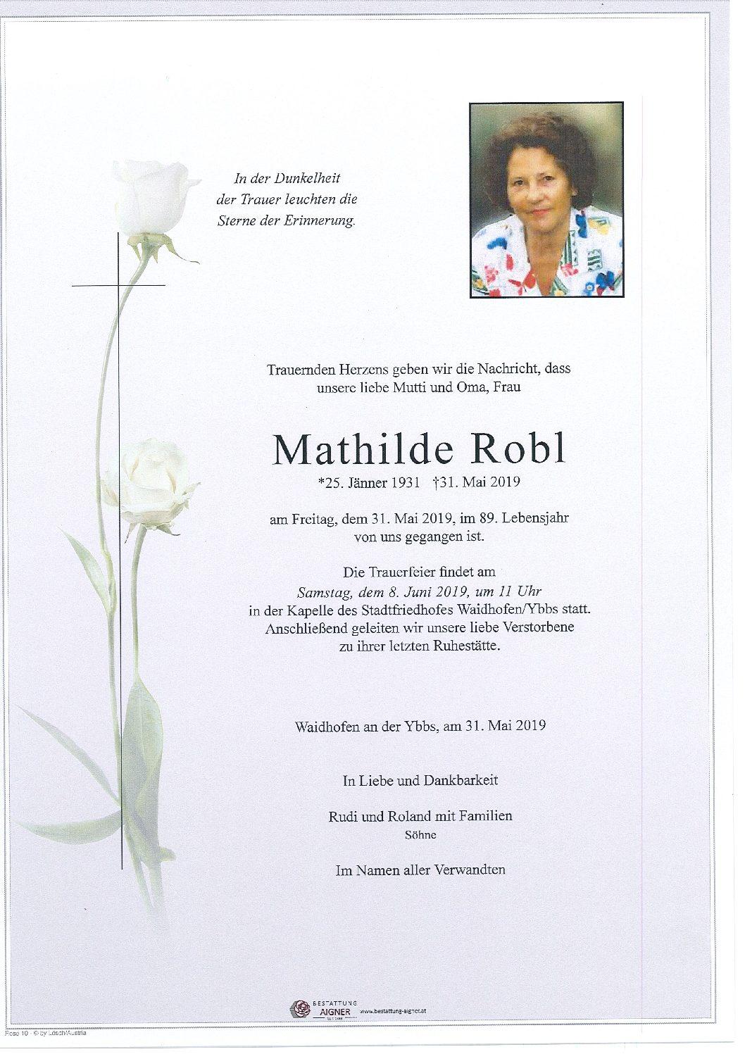 Mathilde Robl