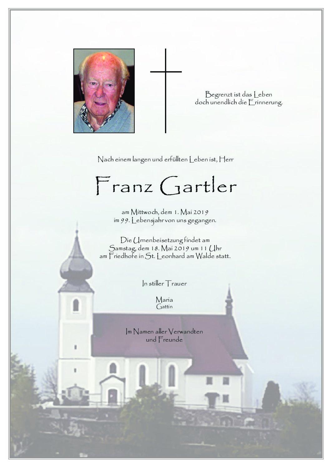 Franz Gartler