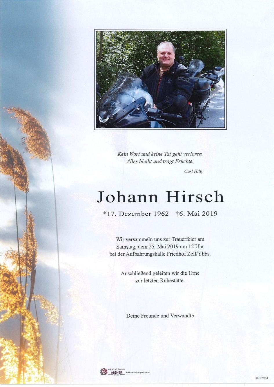 Johann Hirsch