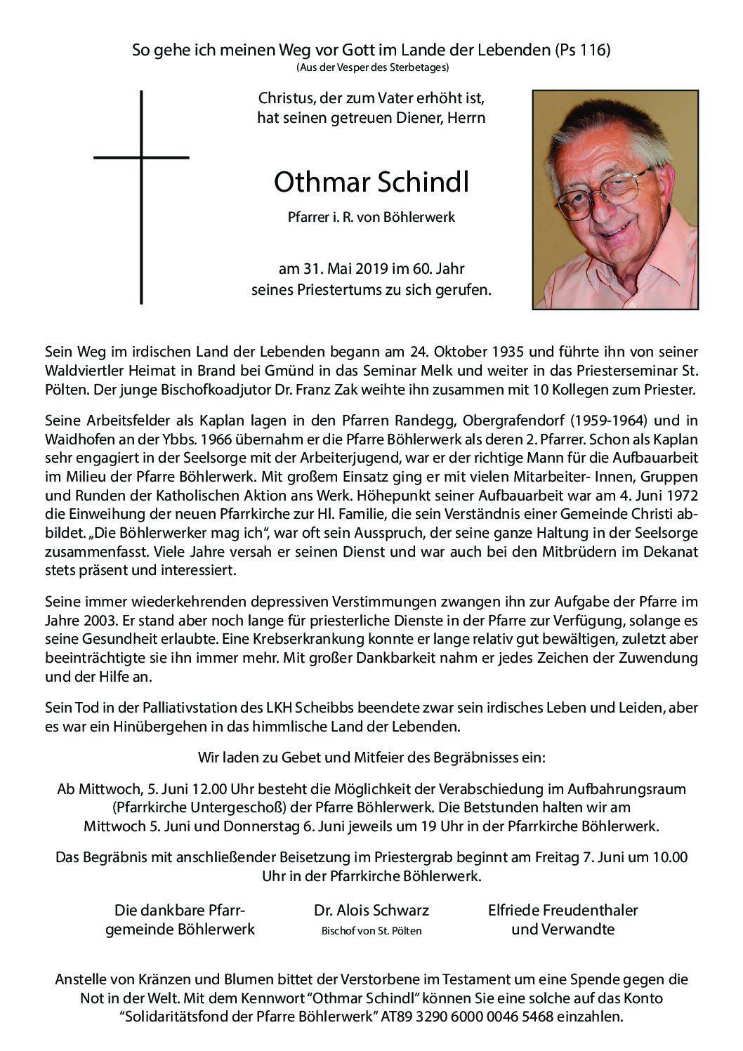 Othmar Schindl