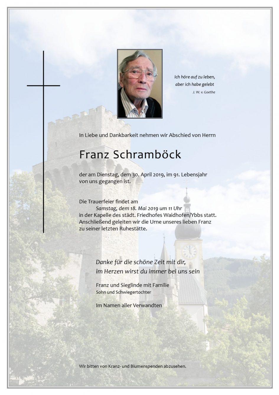 Franz Schramböck