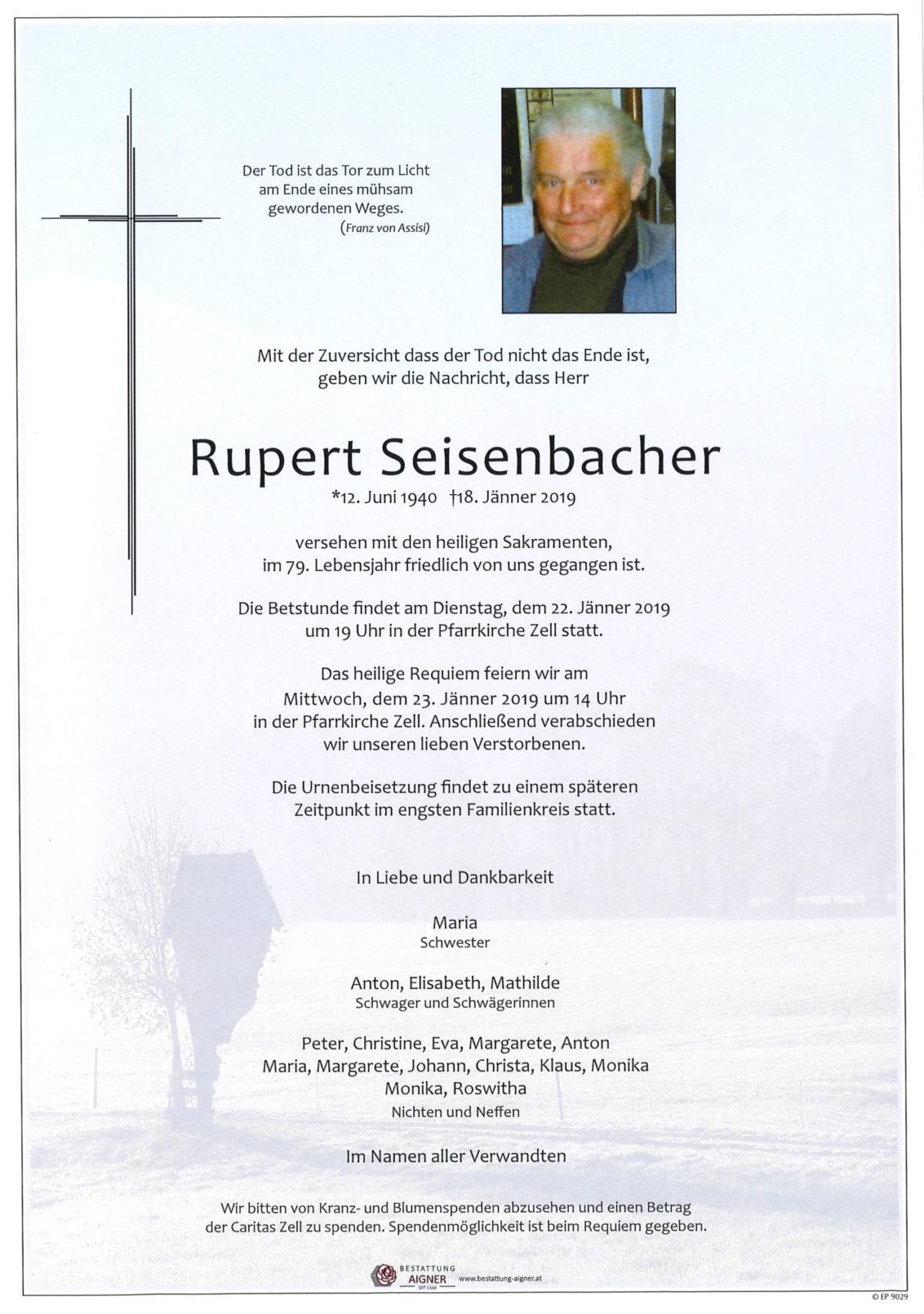 Rupert Seisenbacher