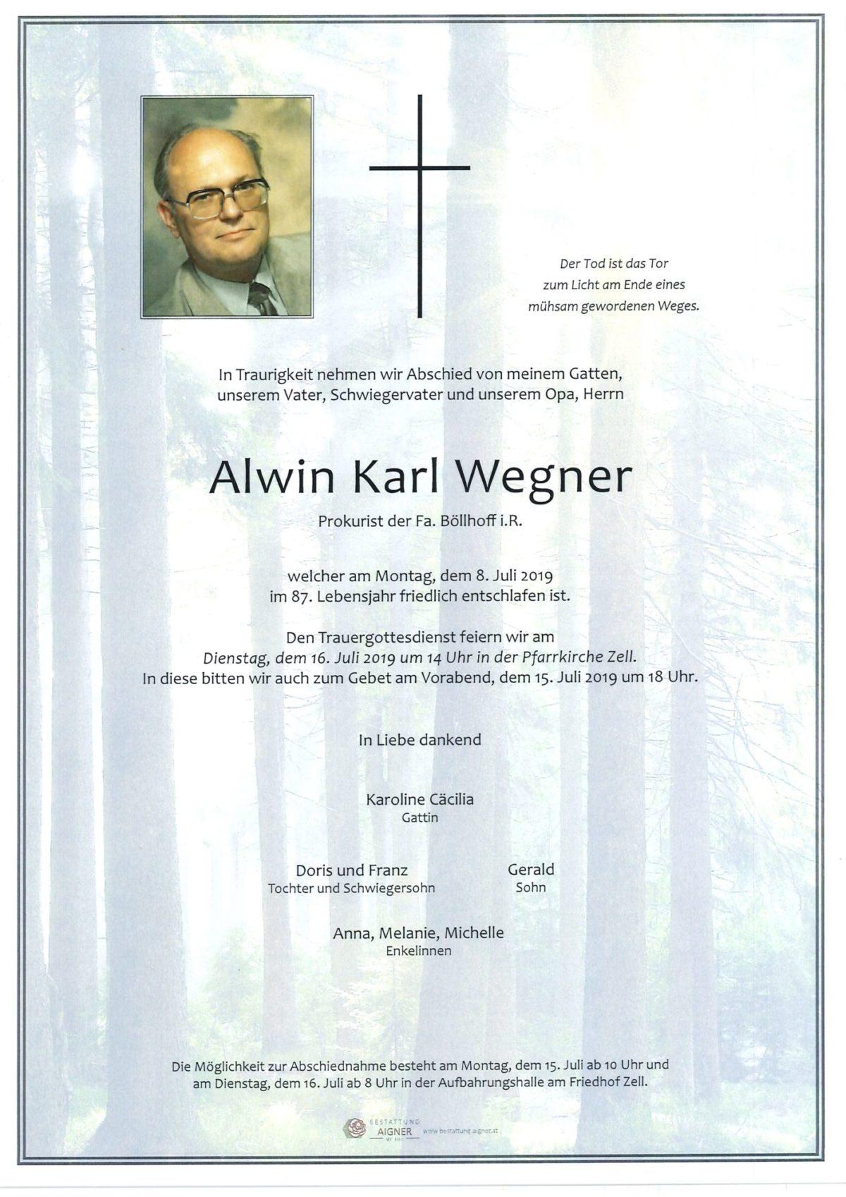Alwin Karl Wegner
