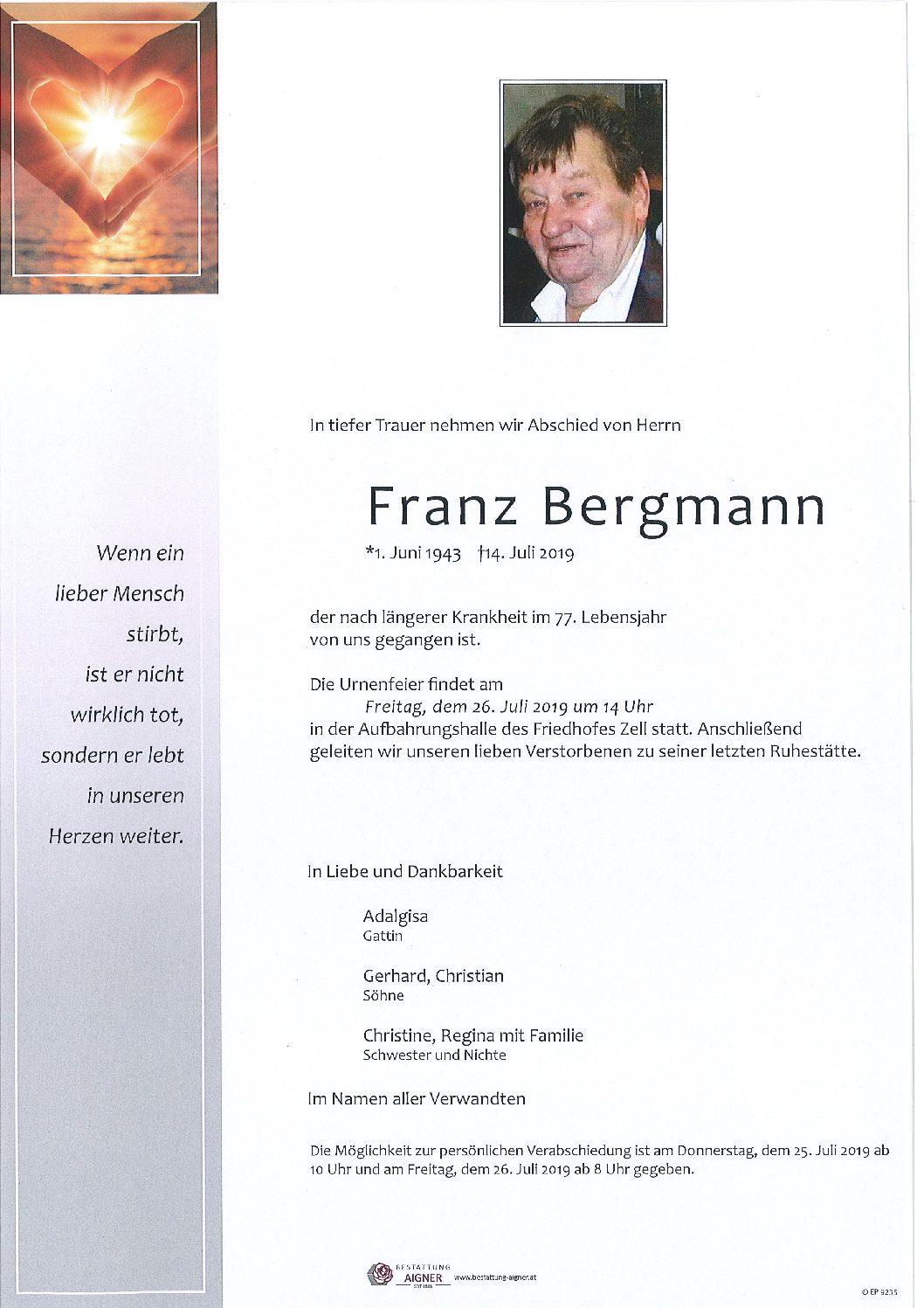 Franz Bergmann