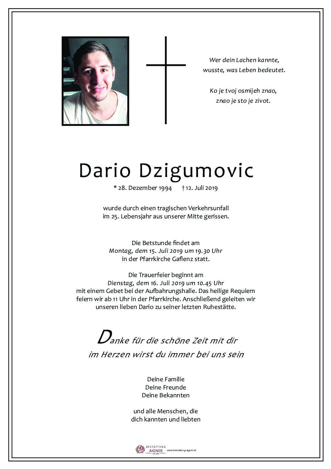 Dario Dzigumovic