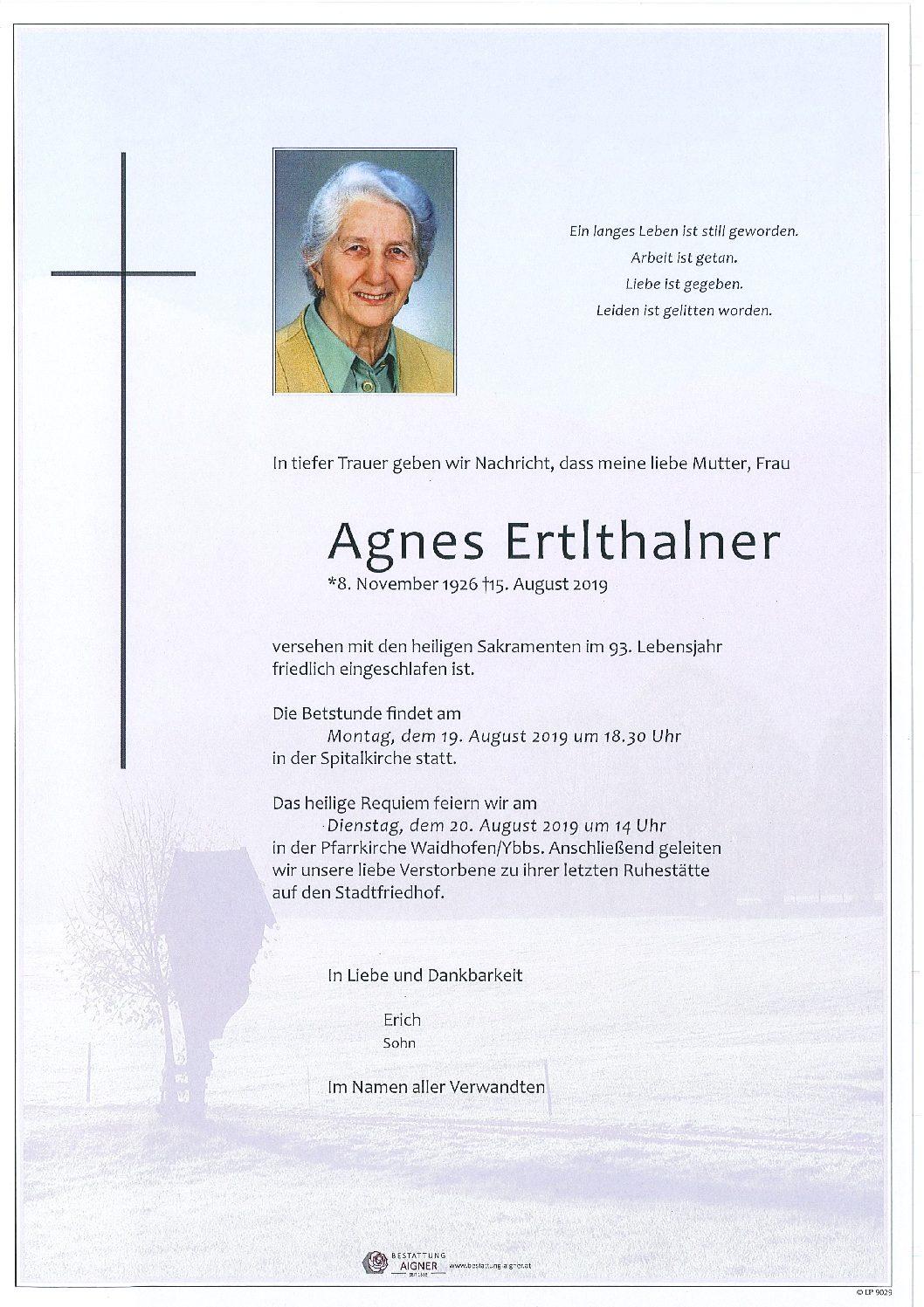 Agnes Ertlthalner