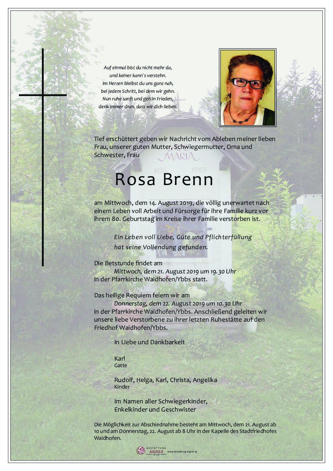 Rosa Brenn
