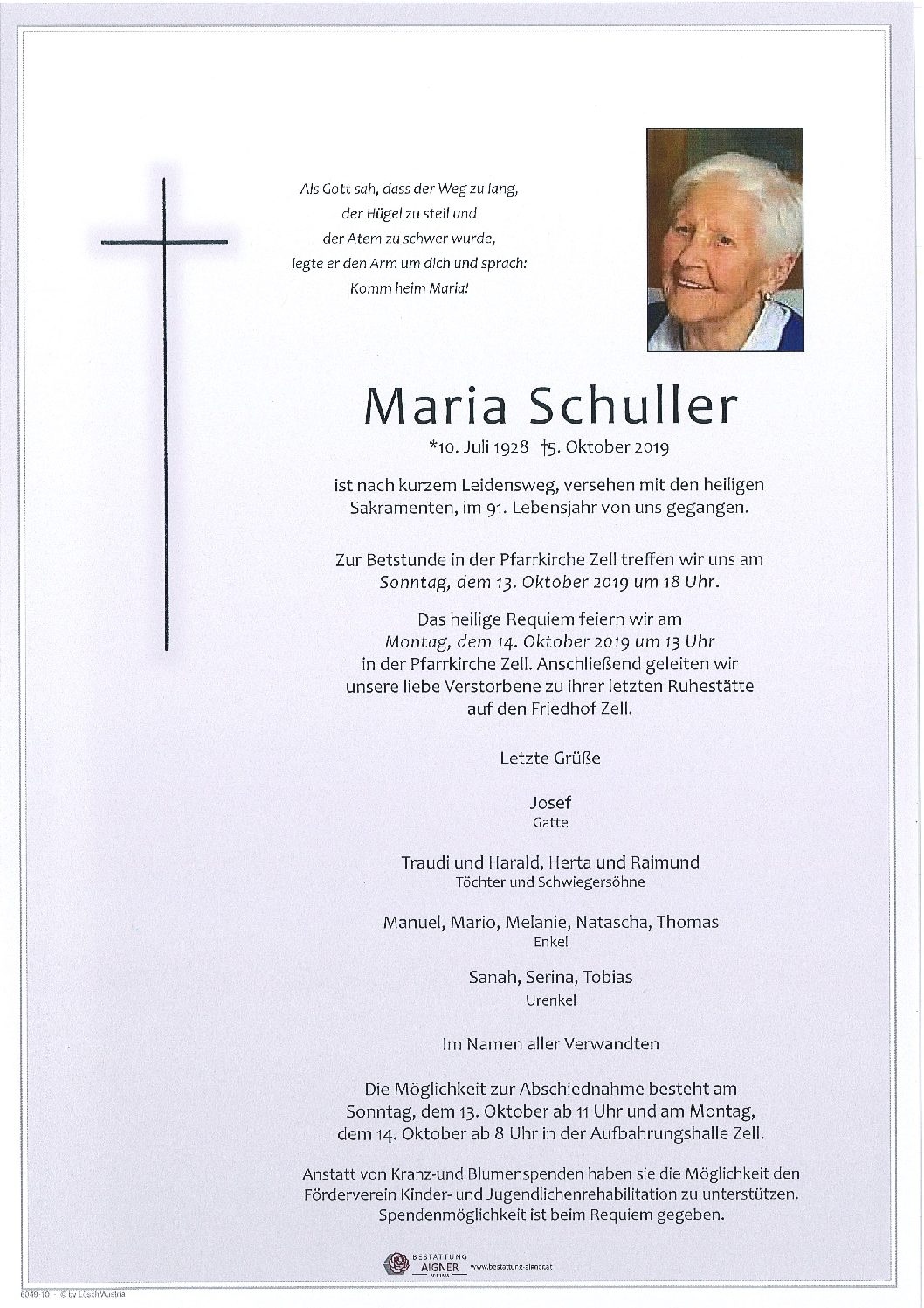 Maria Schuller