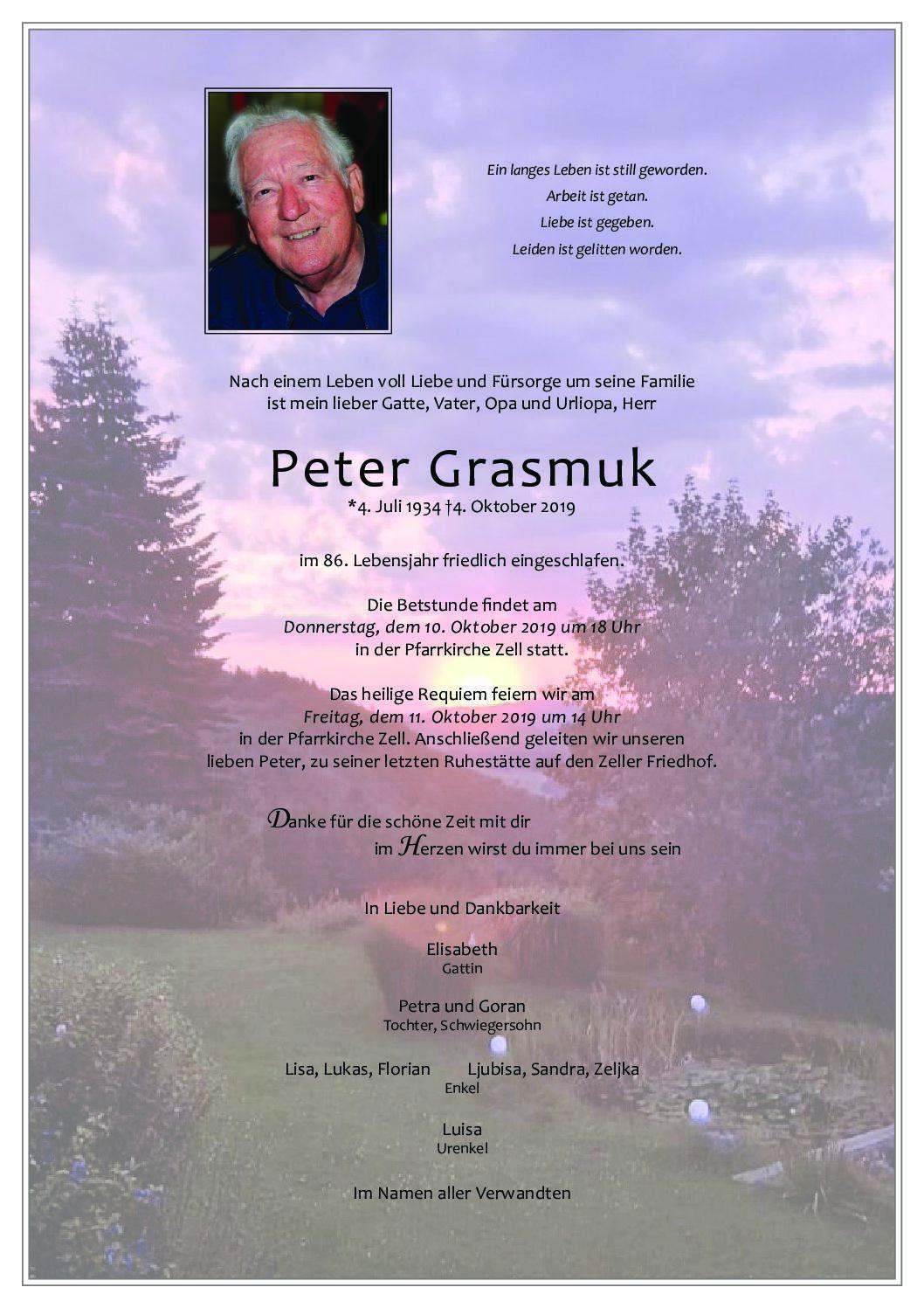 Peter Grasmuk