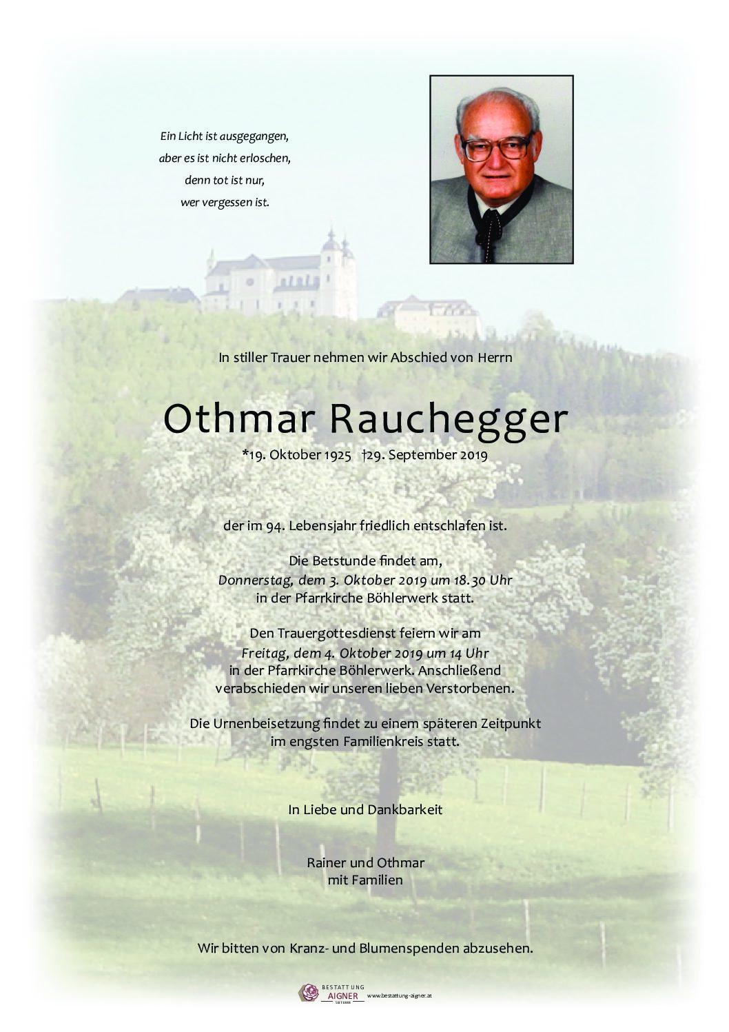 Othmar Rauchegger