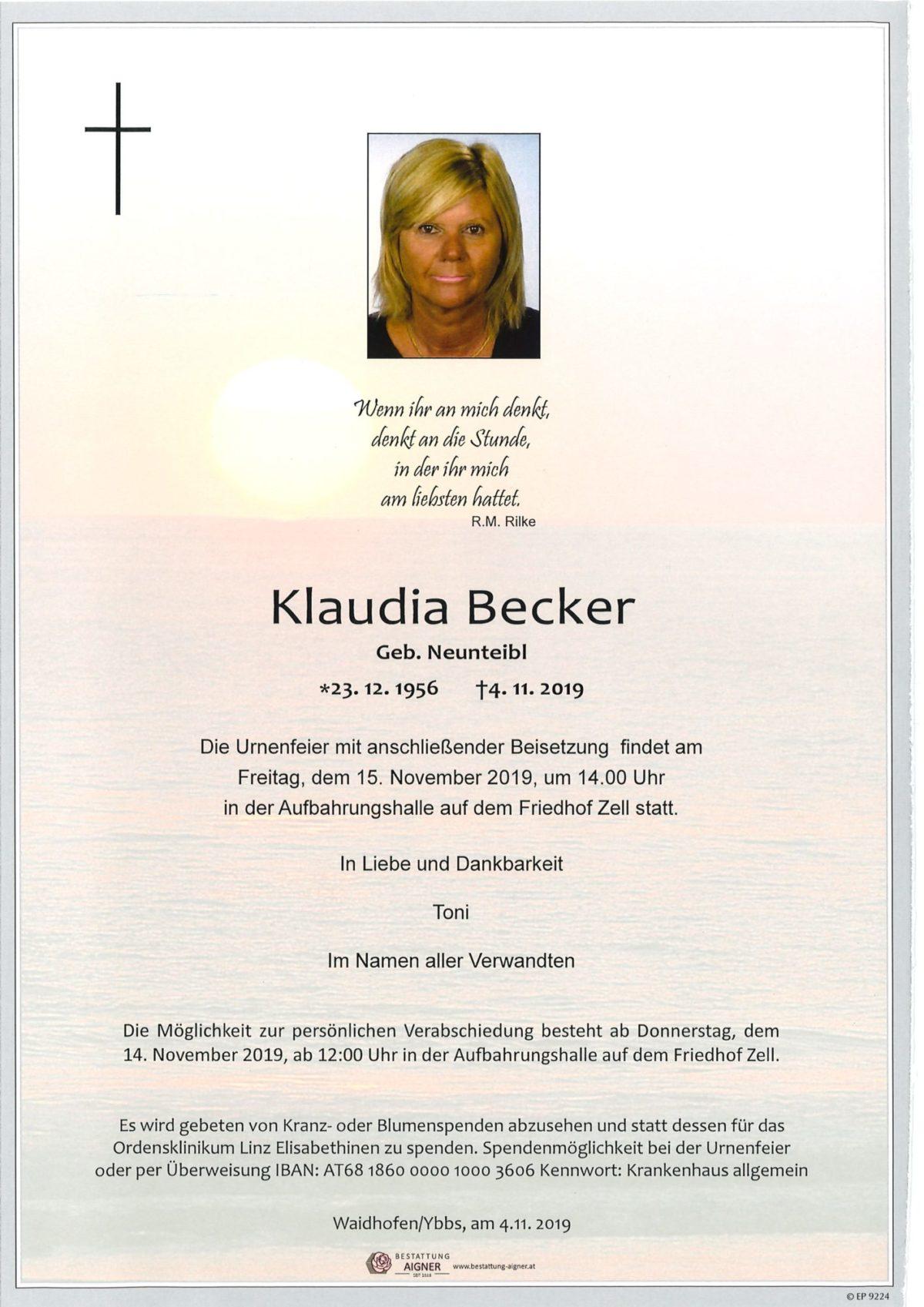 Klaudia Becker