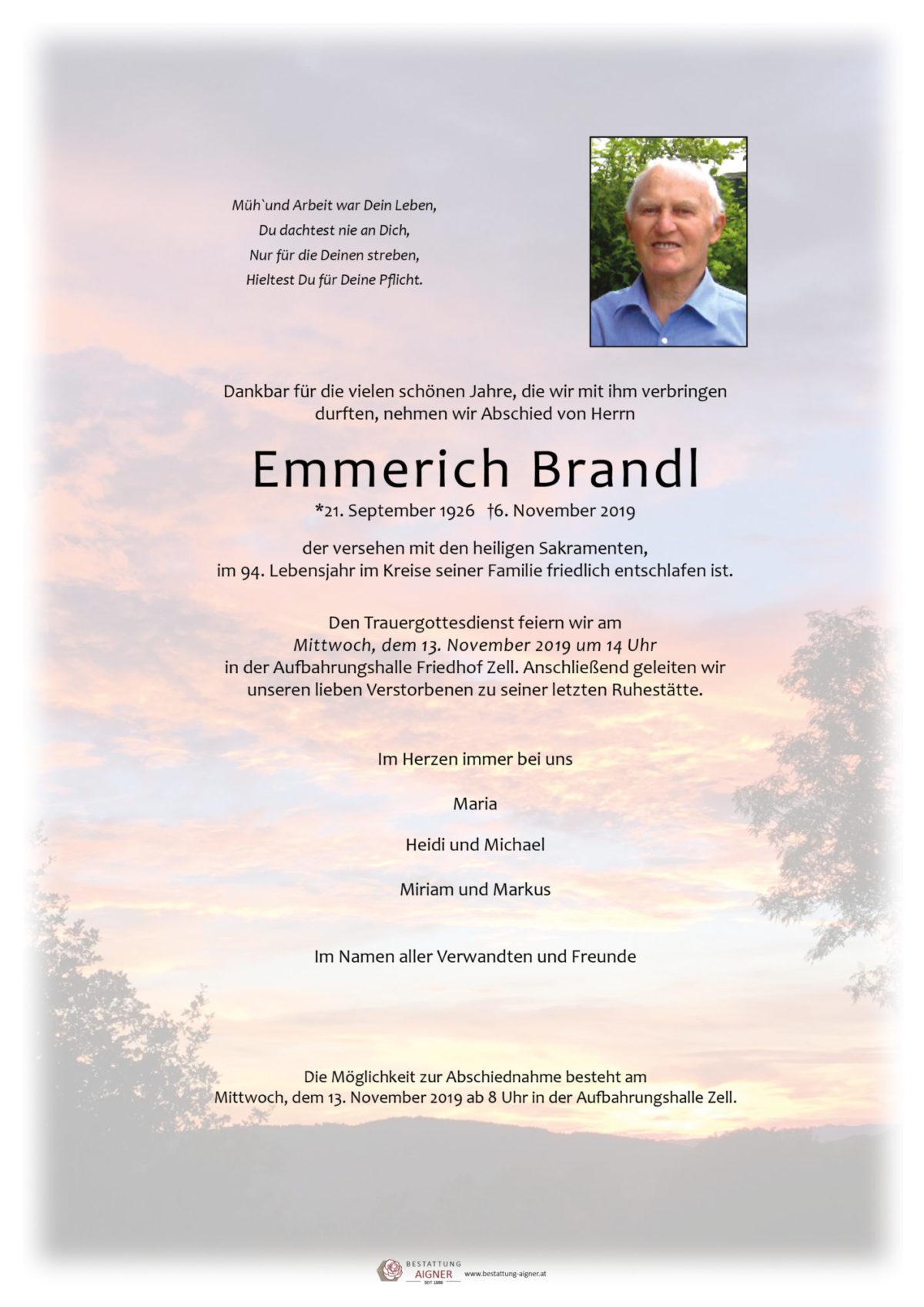 Emmerich Brandl