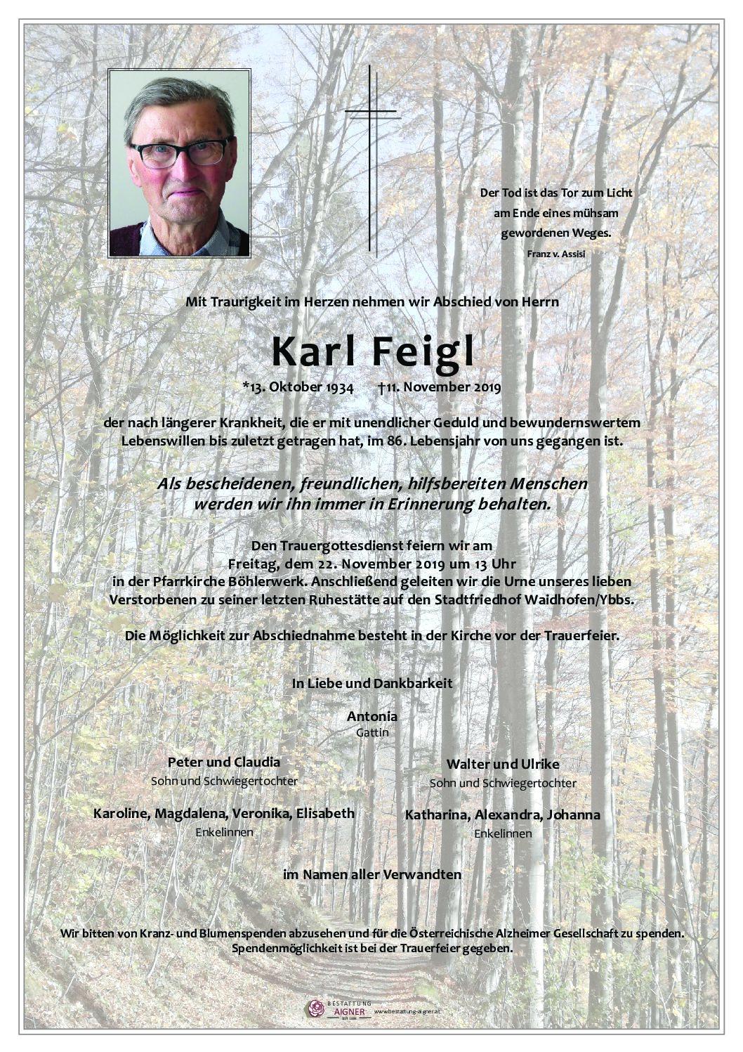 Karl Feigl