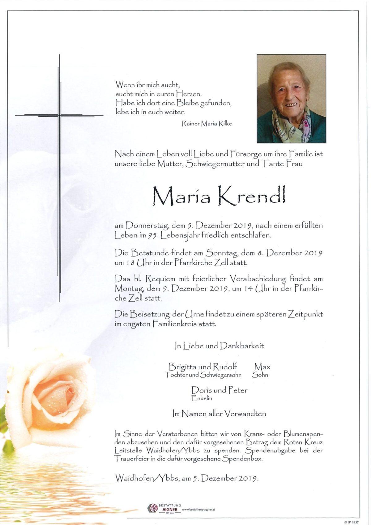 Maria Krendl