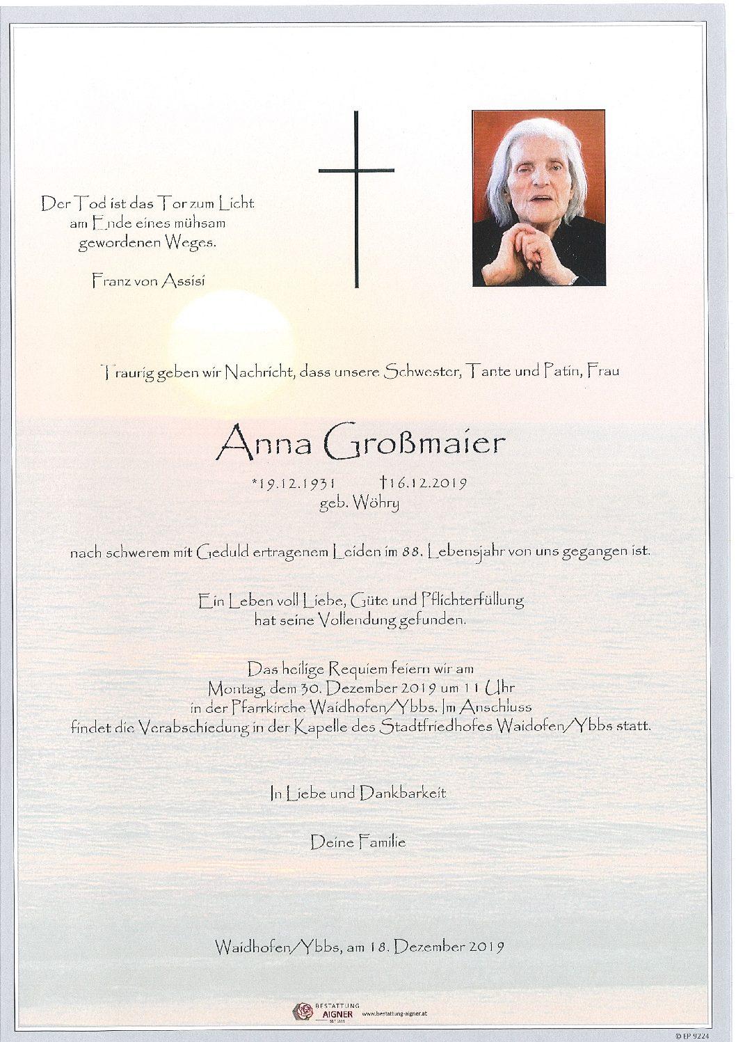 Anna Großmaier