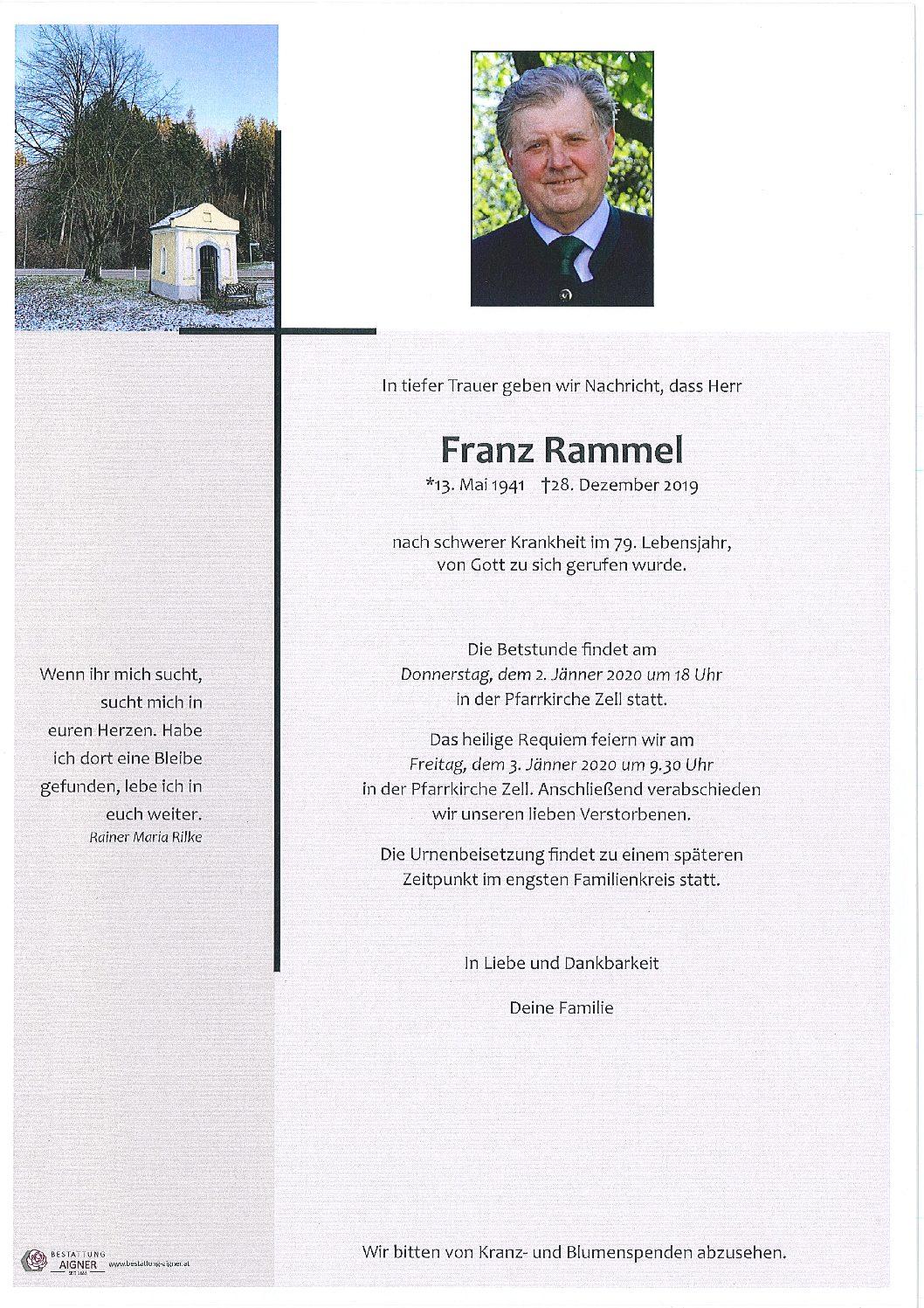 Franz Rammel