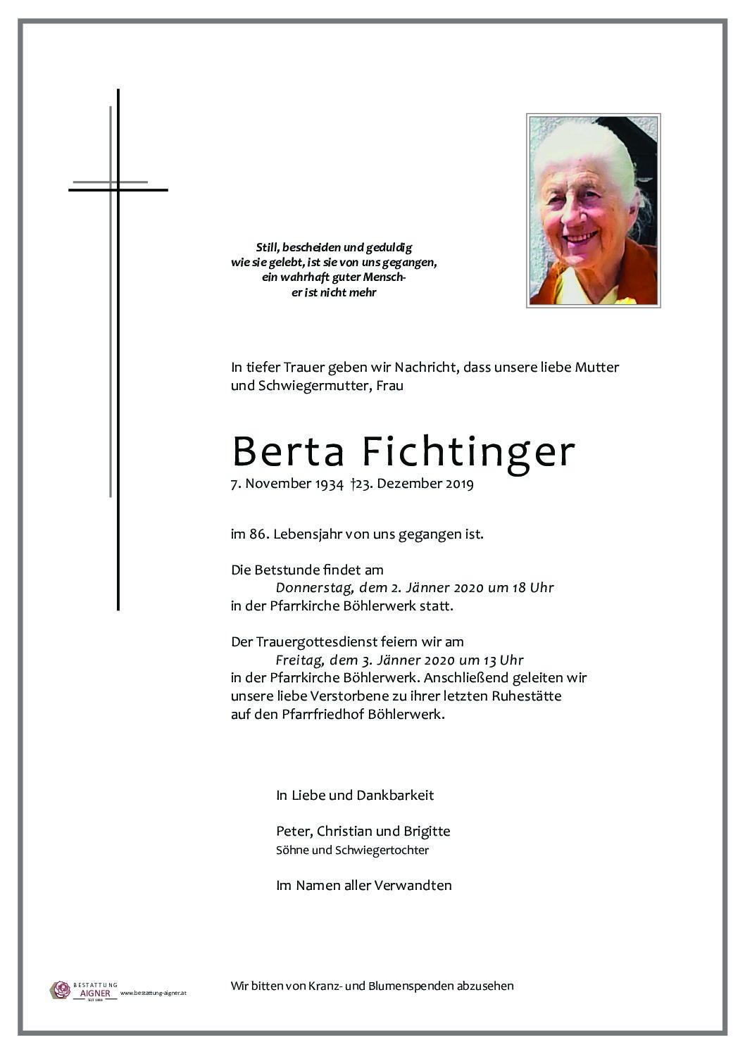 Berta Fichtinger