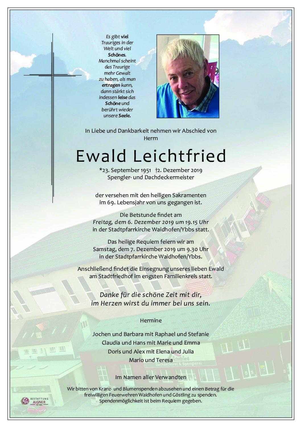 Ewald Leichtfried
