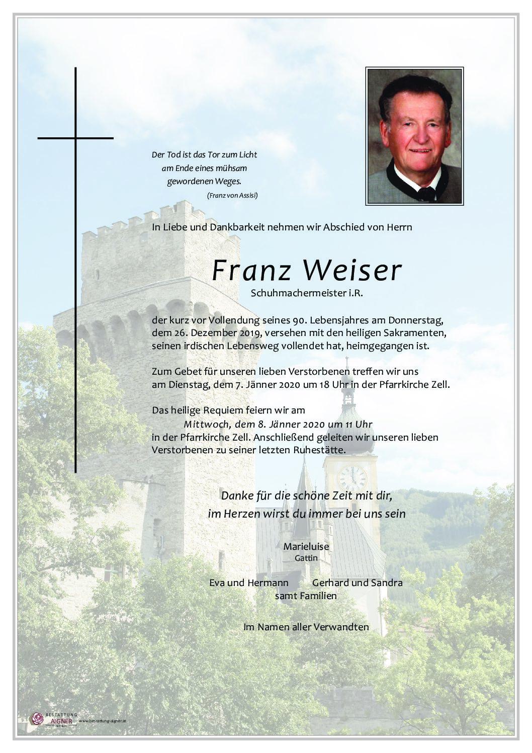 Franz Weiser