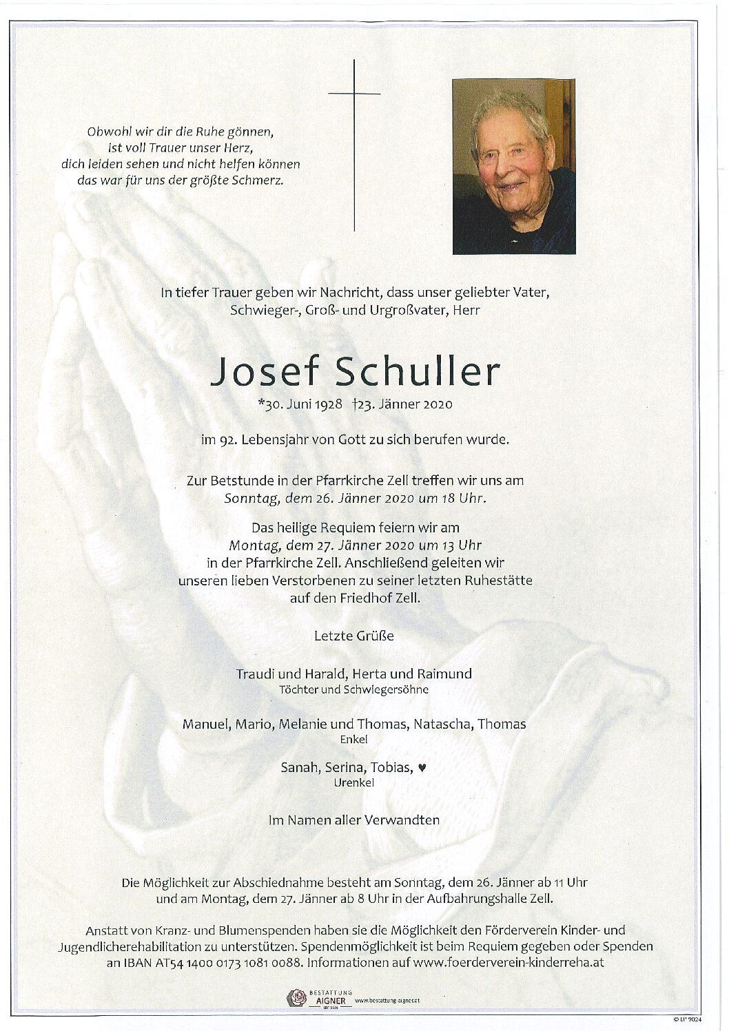 Josef Schuller