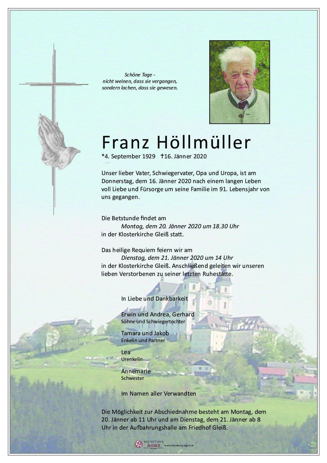 Franz Höllmüller