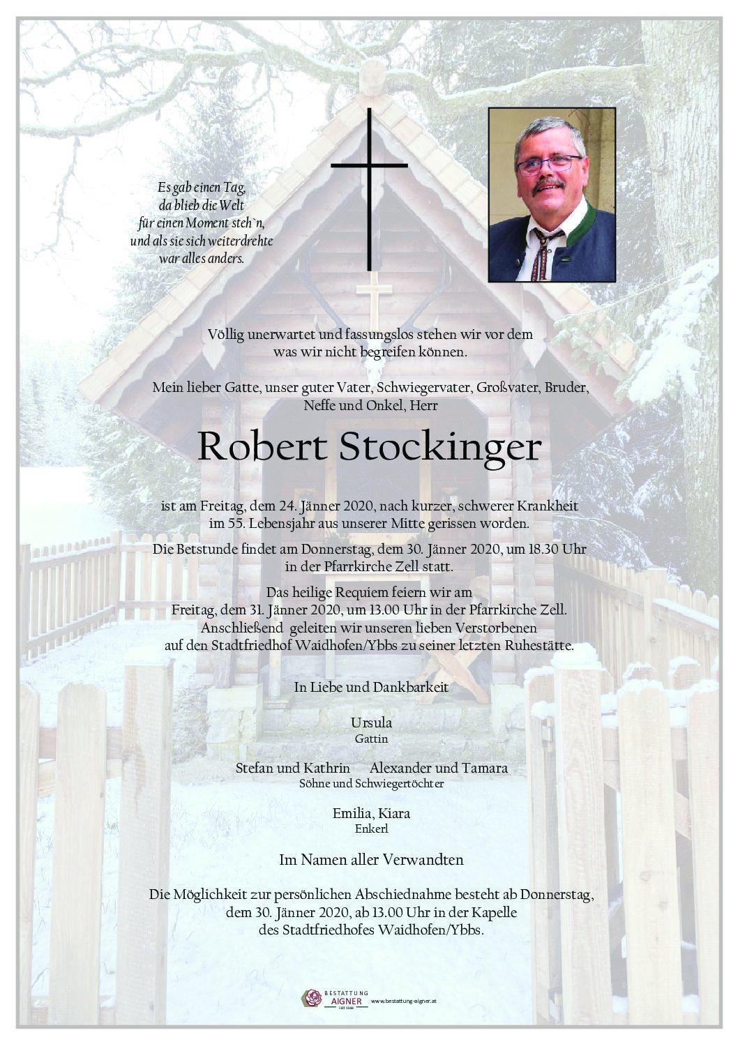 Robert Stockinger