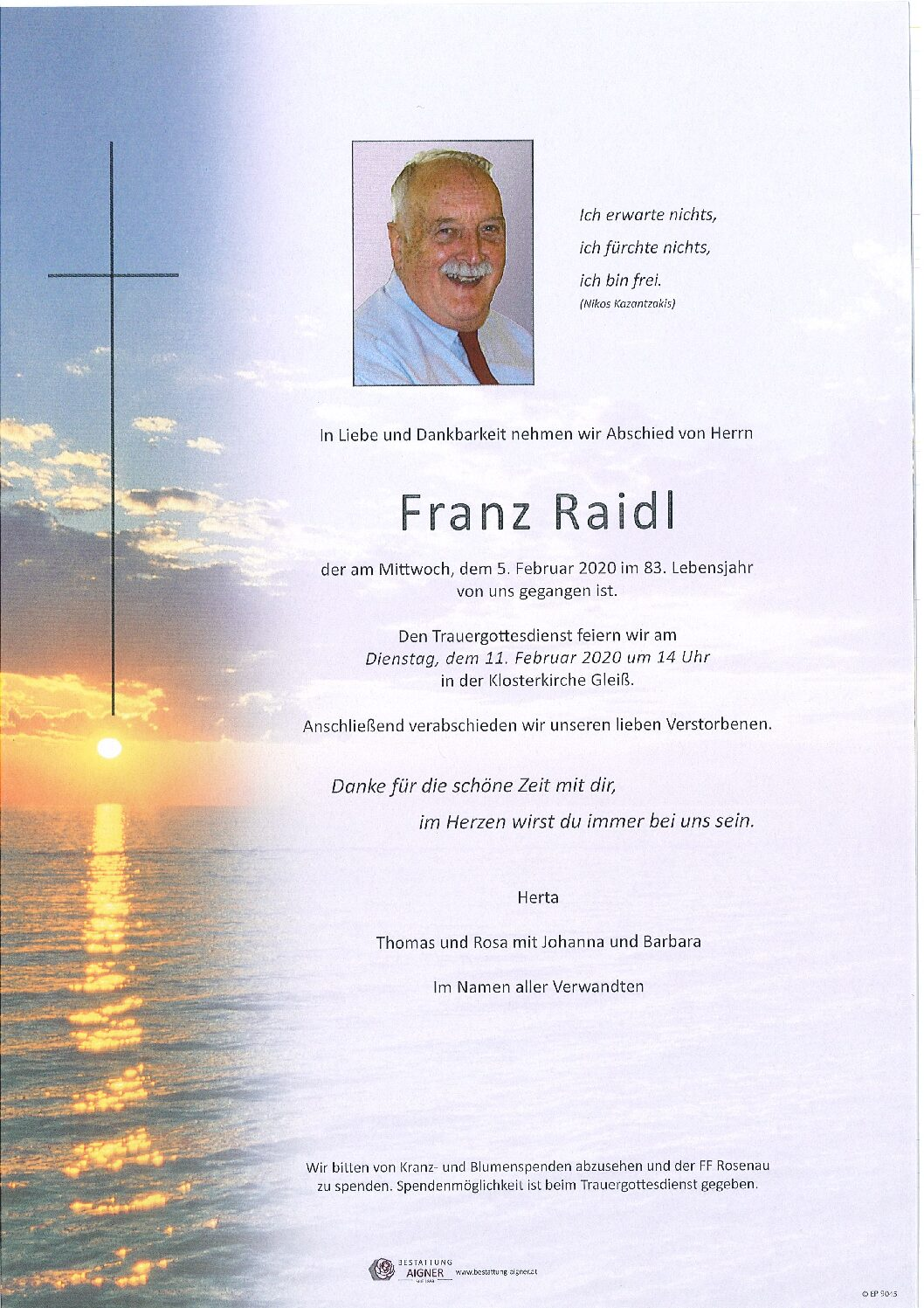 Franz Raidl