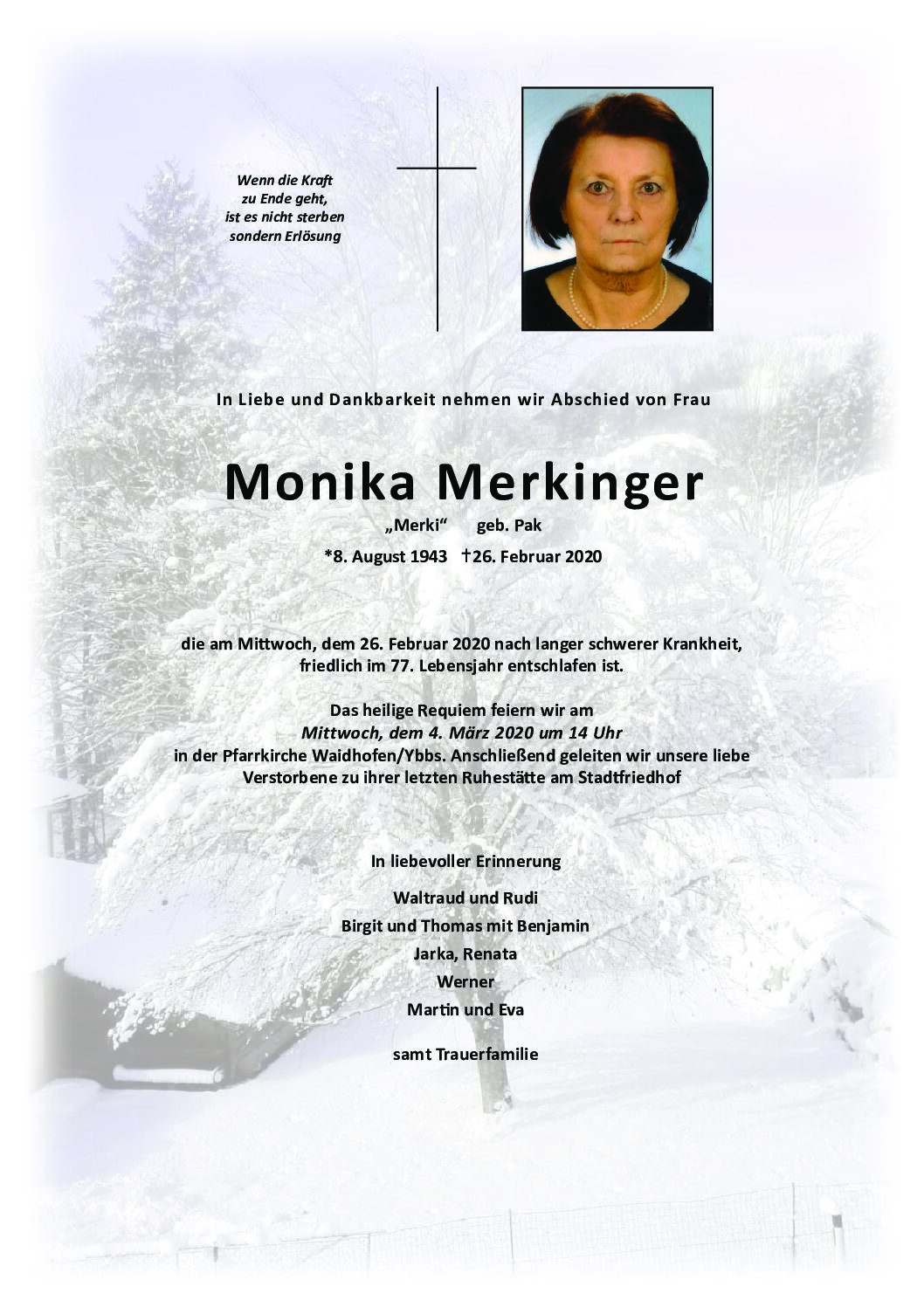 Monika Merkinger