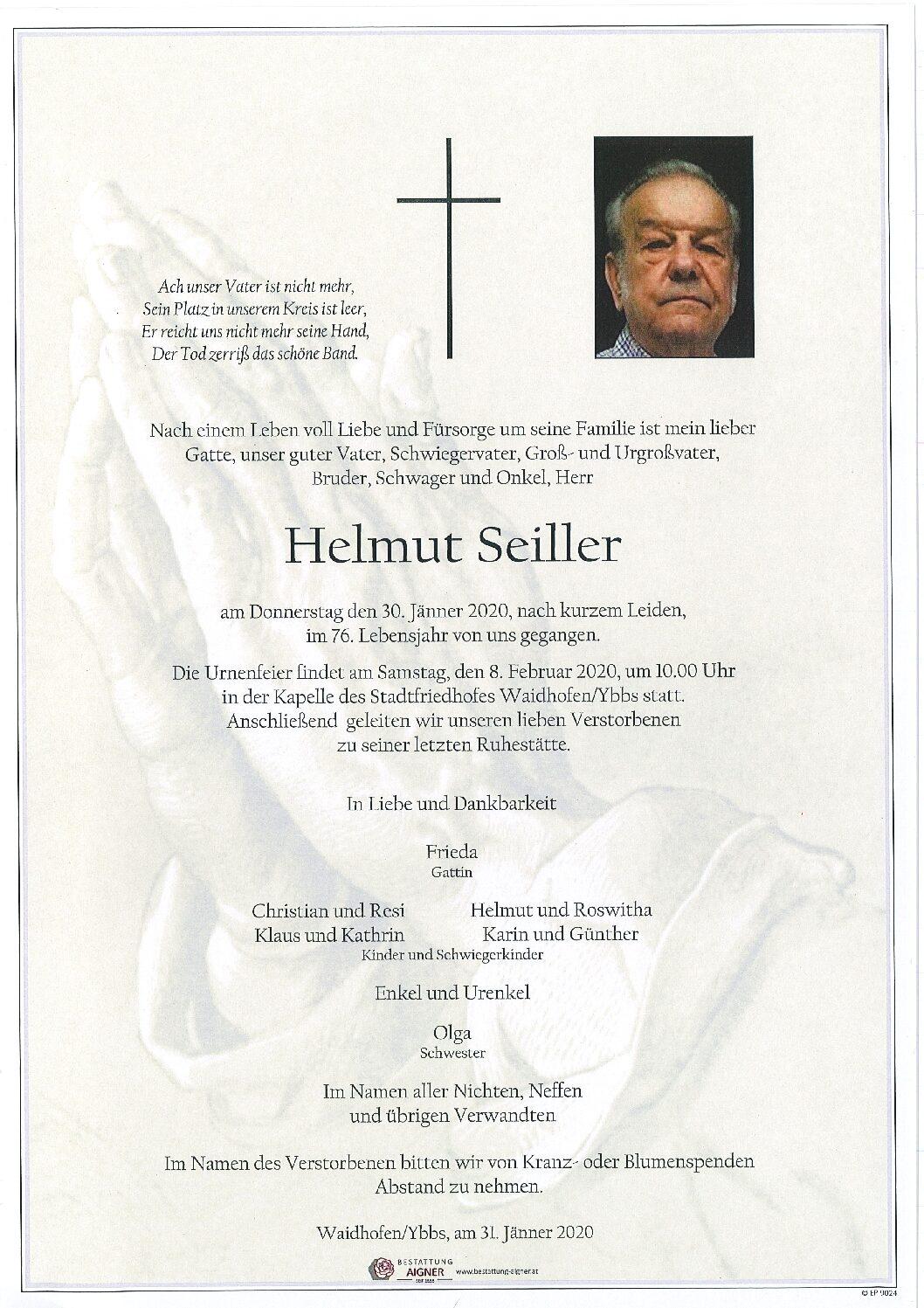 Helmut Seiller