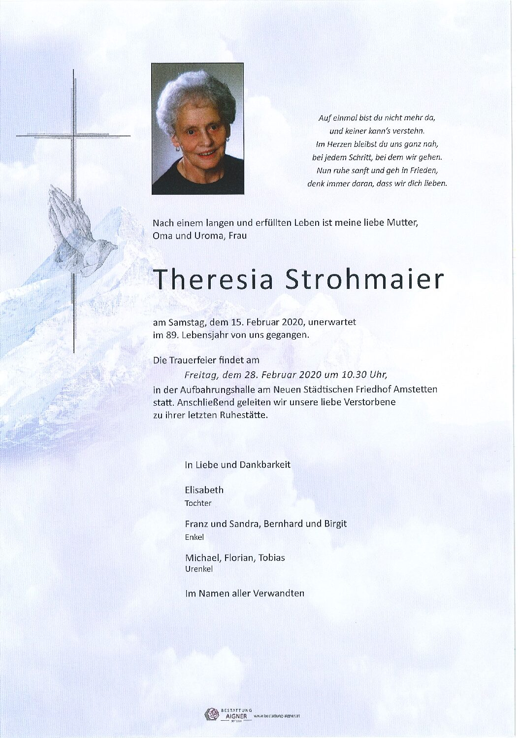 Theresia Strohmaier
