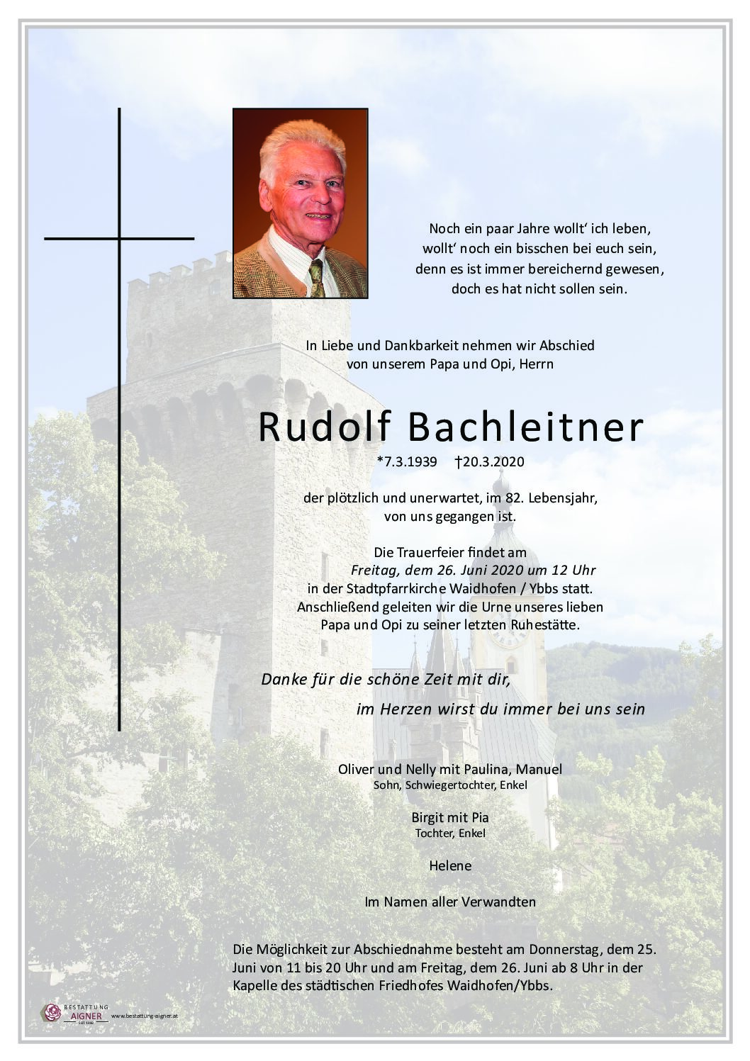 Rudolf Bachleitner