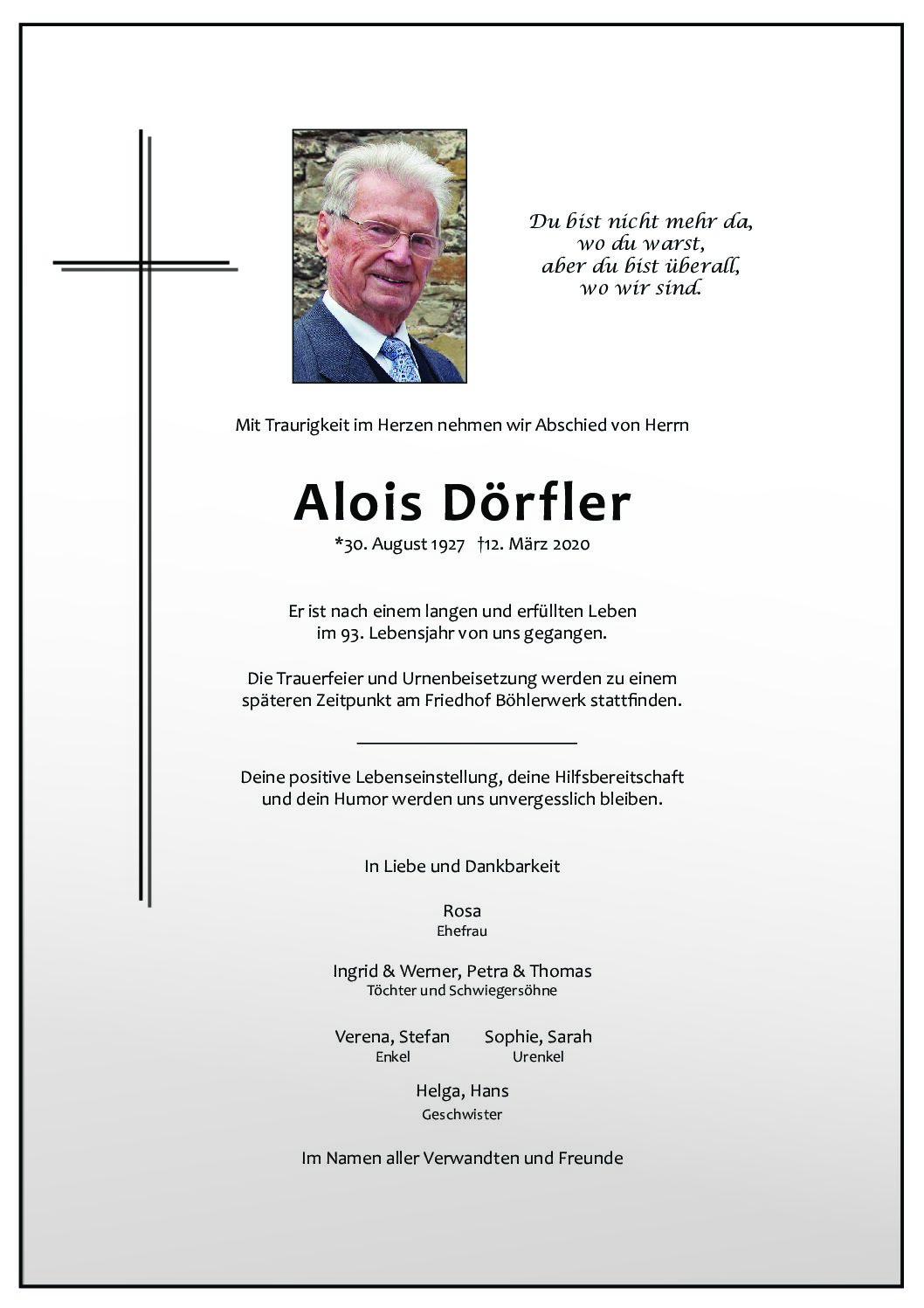 Alois Dörfler