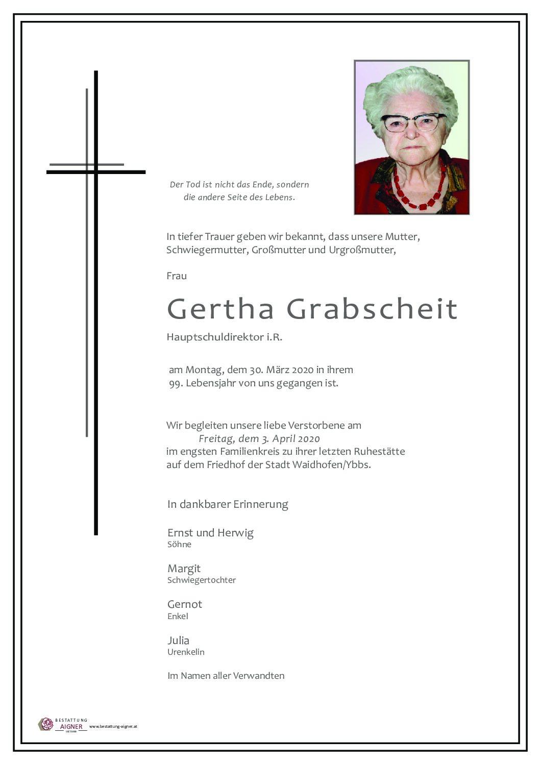 Gertha Grabscheit