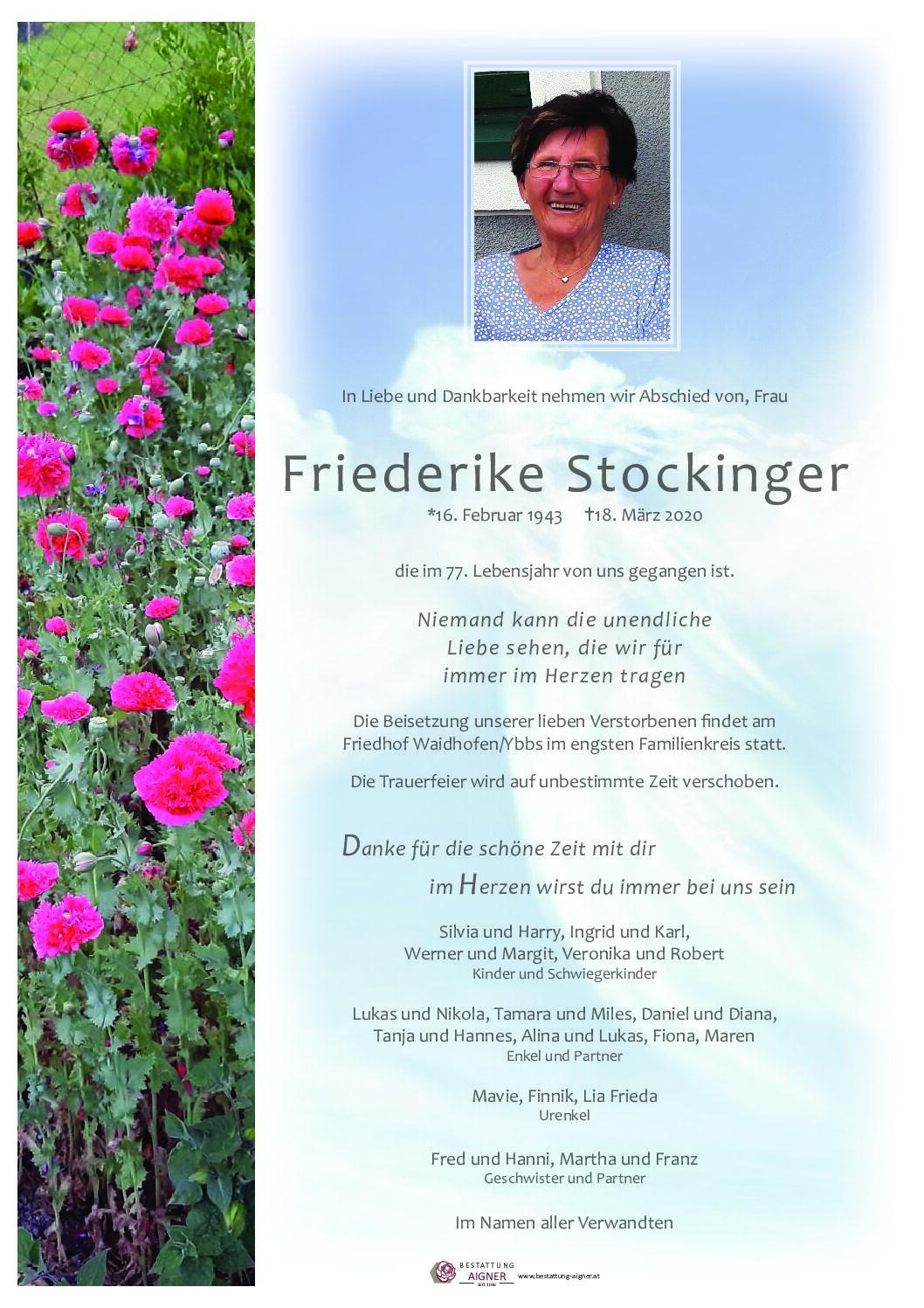 Friederike Stockinger
