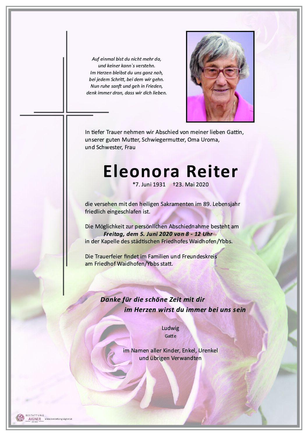 Eleonora Reiter