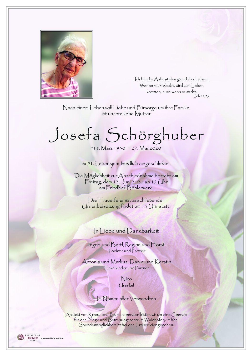 Josefa Schörghuber