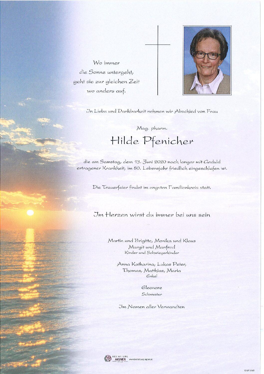 Hilde Pfenicher