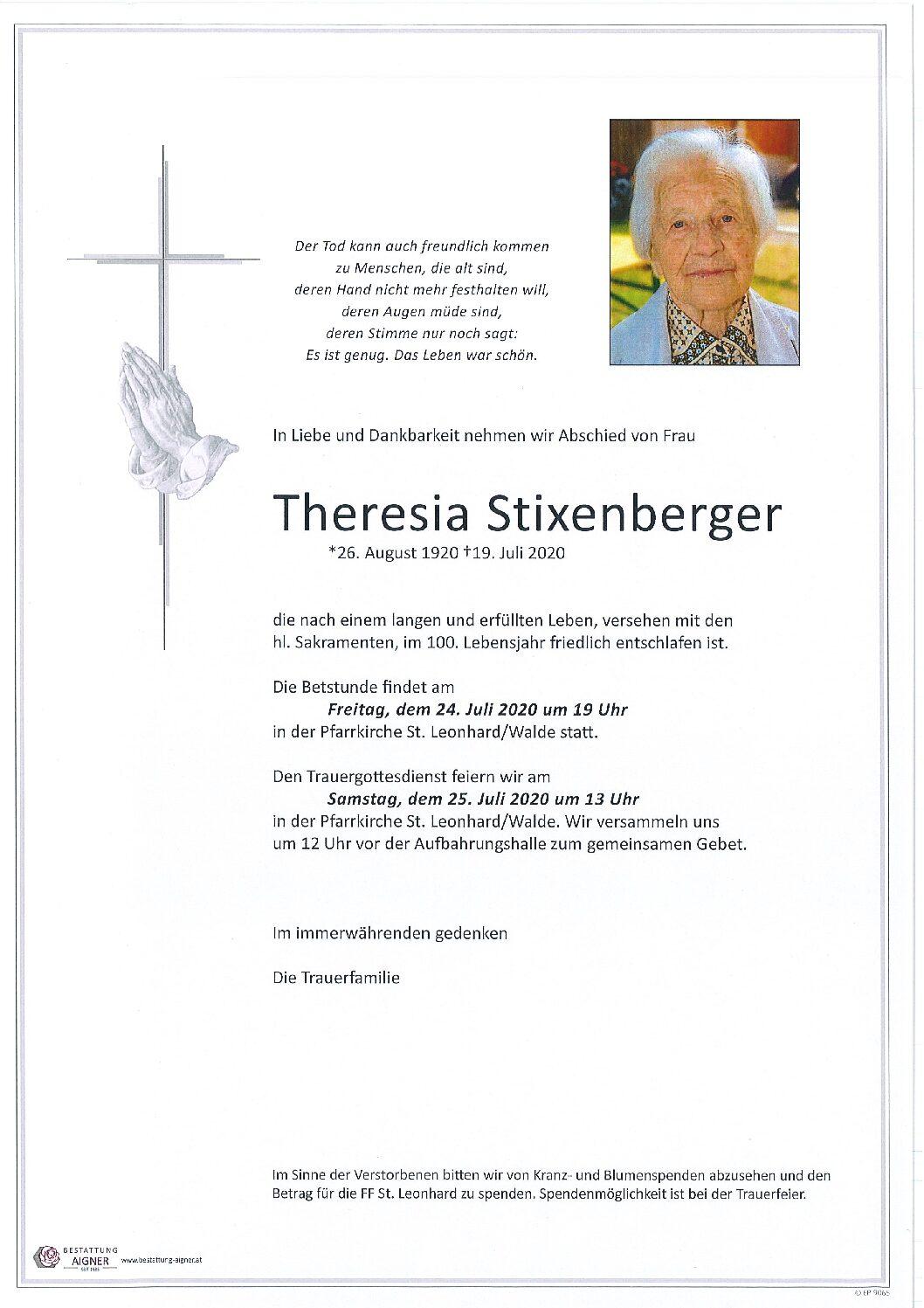 Theresia Stixenberger