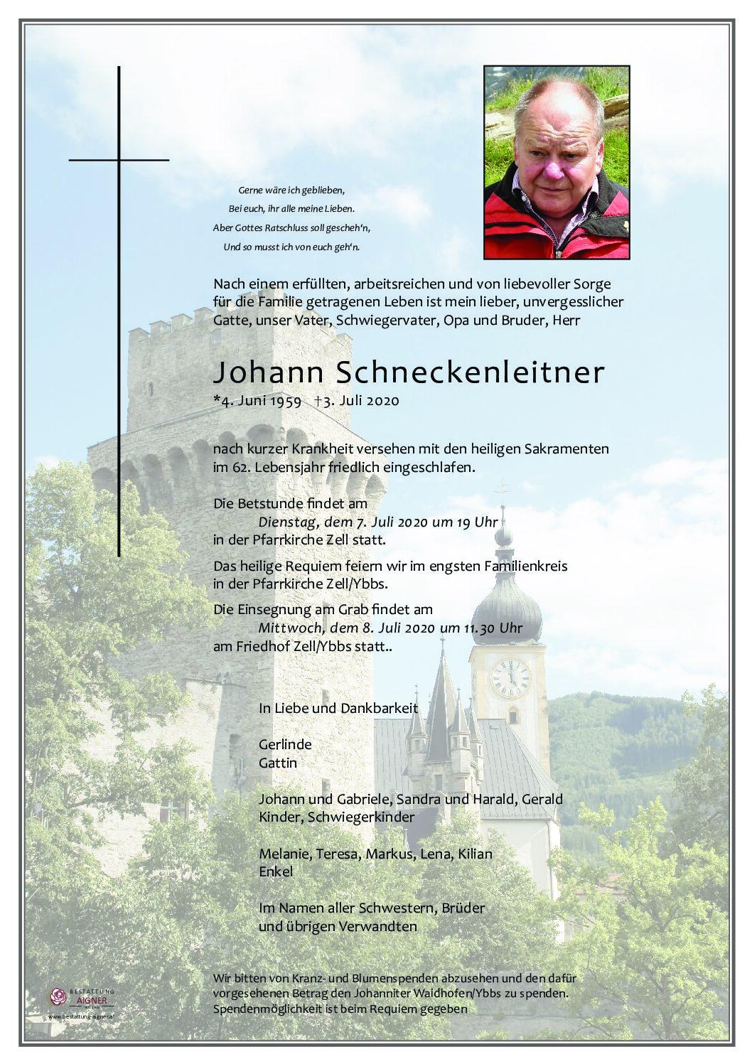 Johann Schneckenleitner