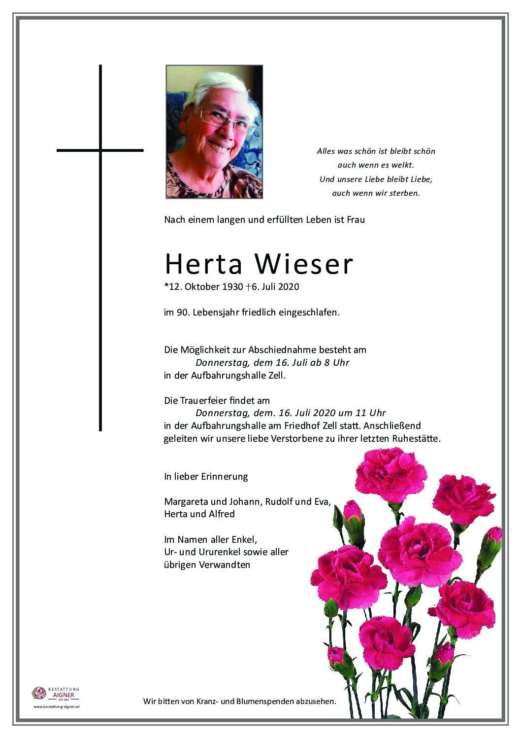 Herta Wieser