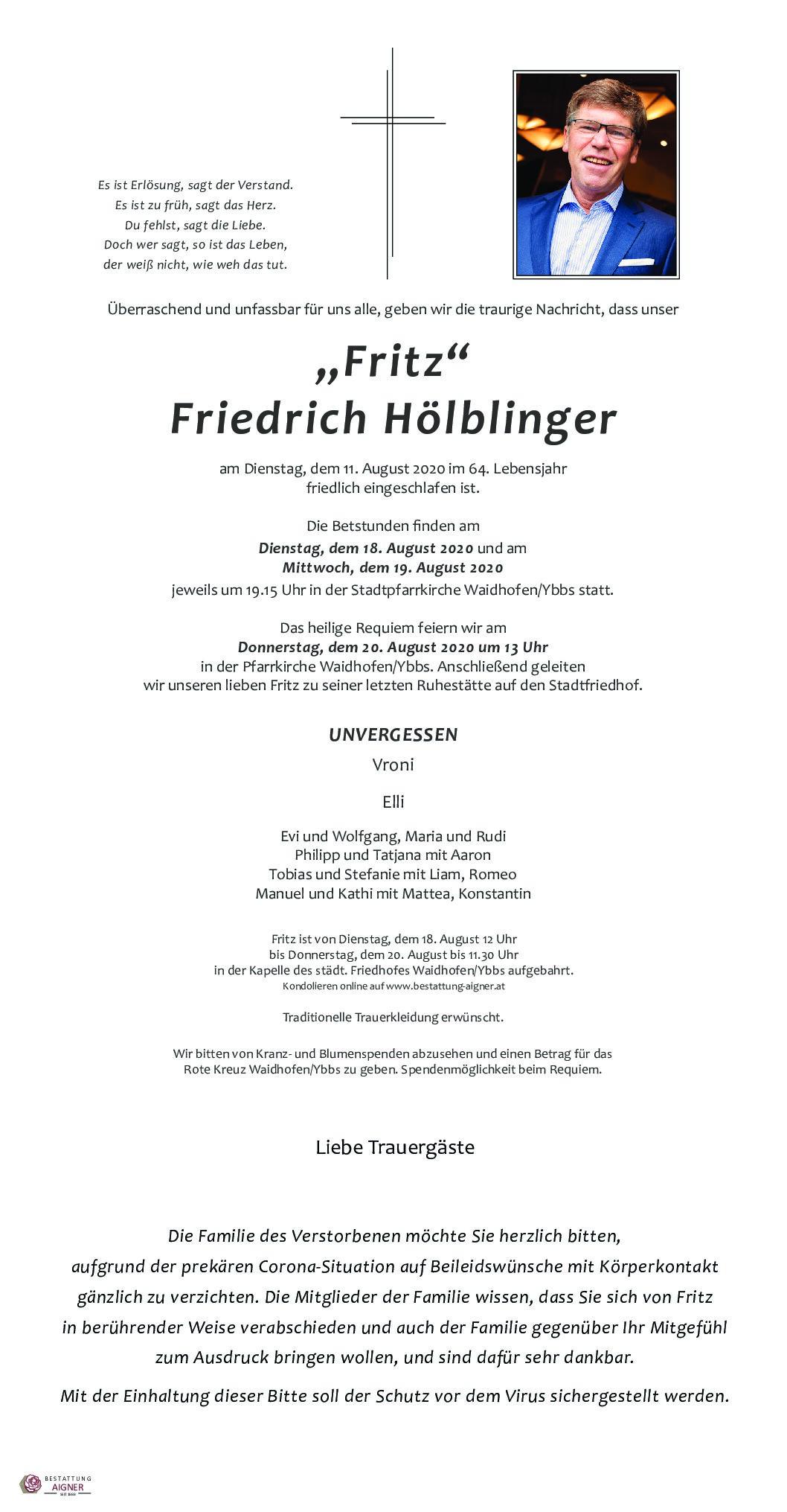 Fritz Hölblinger