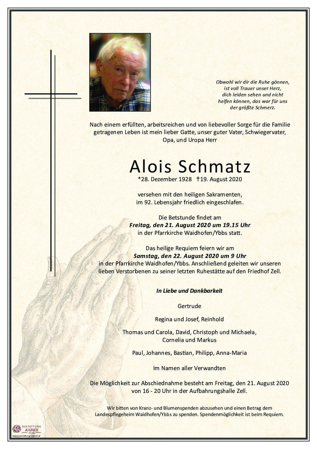Alois Schmatz