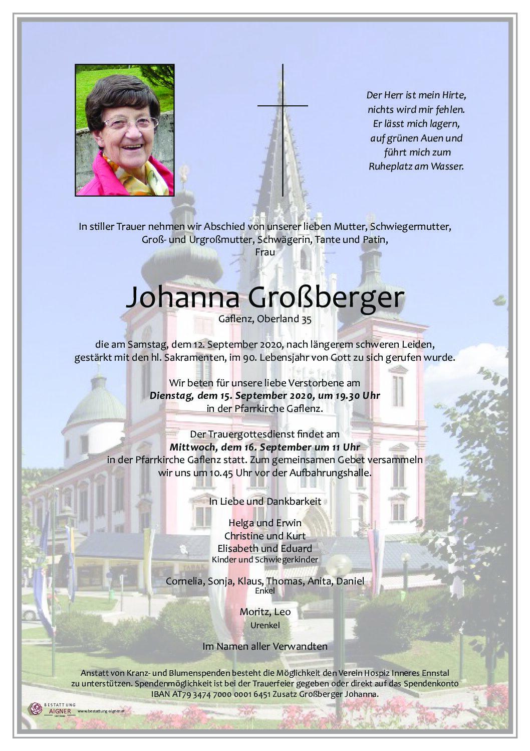 Johanna Großberger