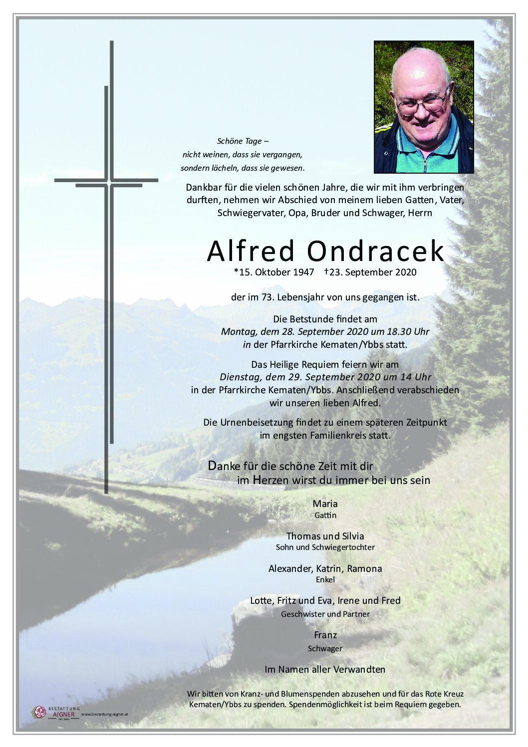 Alfred Ondracek
