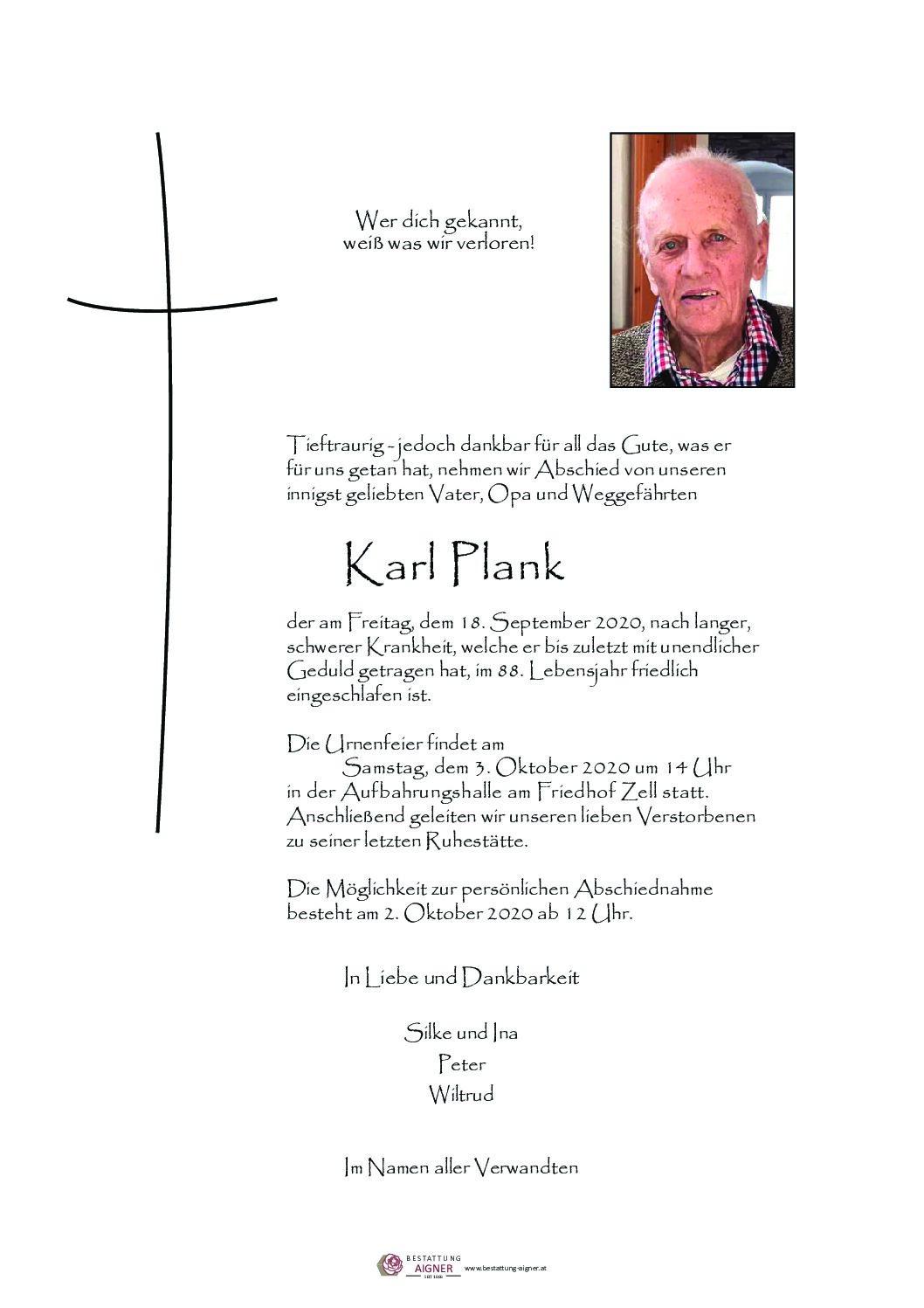 Karl Plank