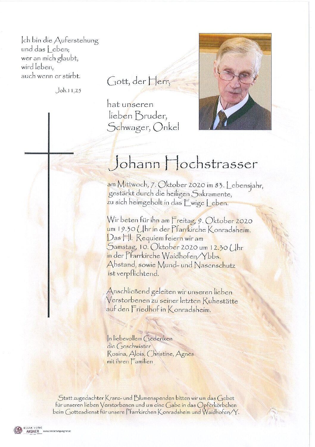 Johann Hochstrasser