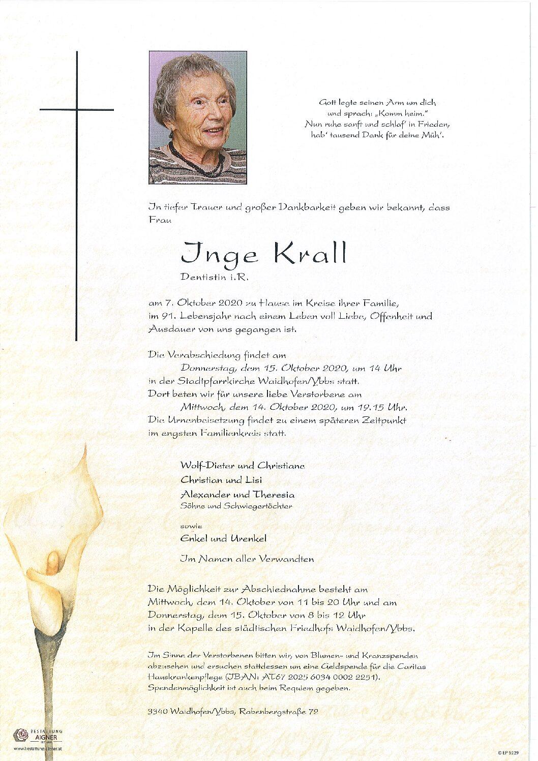 Inge Krall