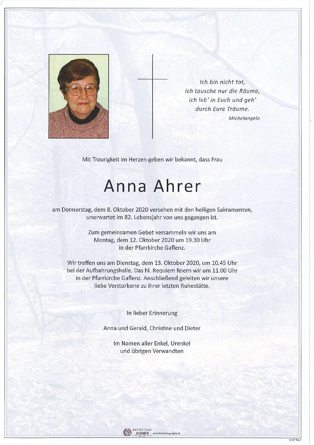 Anna Ahrer