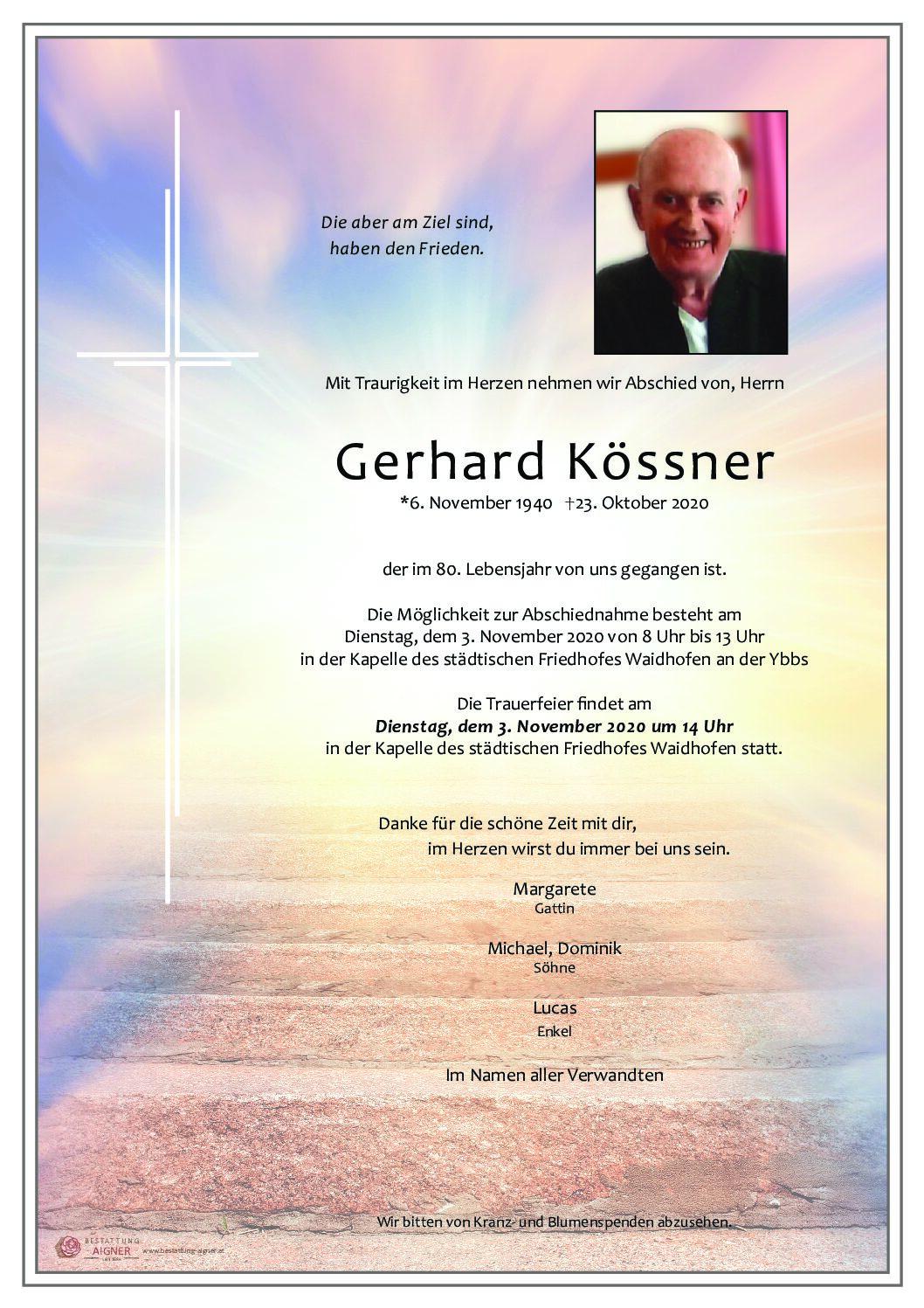 Gerhard Kössner