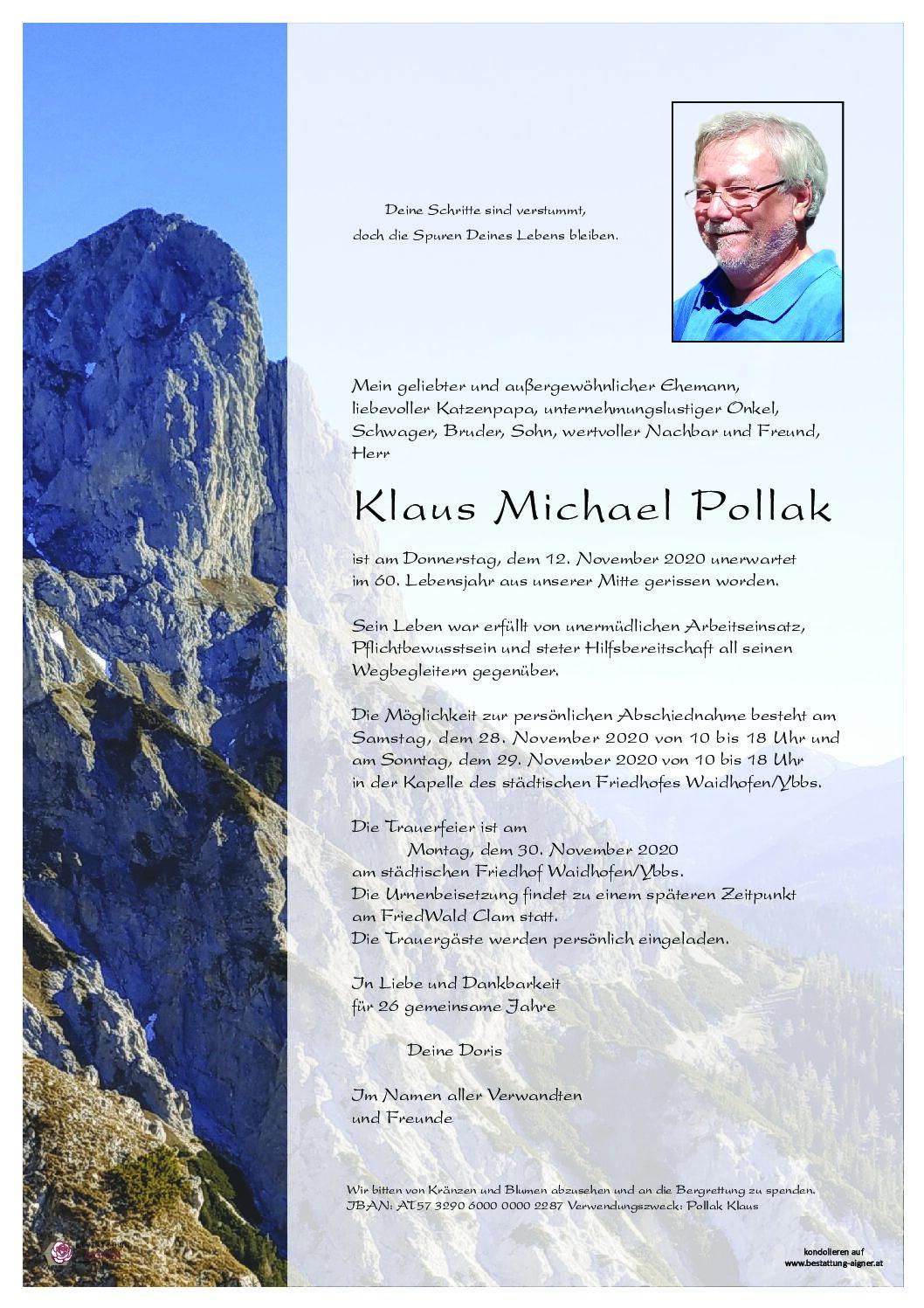 Klaus Michael Pollak